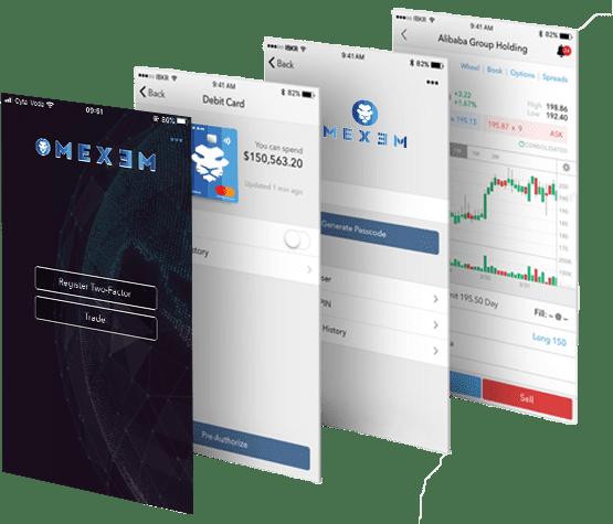Mexem app, beleggingsfondsen app