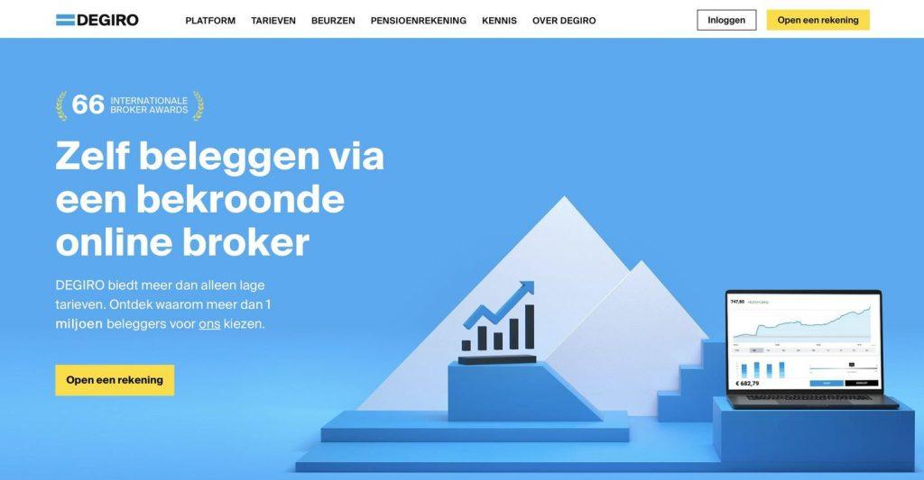 DEGIRO Beleggingsrekening, DEGIRO Beleggen, DEGIRO Broker