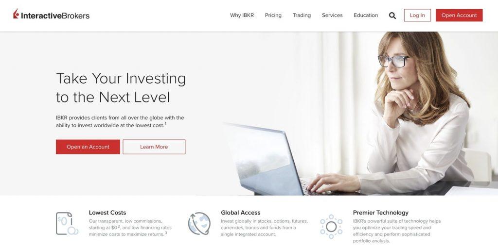 Interactive brokers, beste beleggingsplatform, handelsplatform